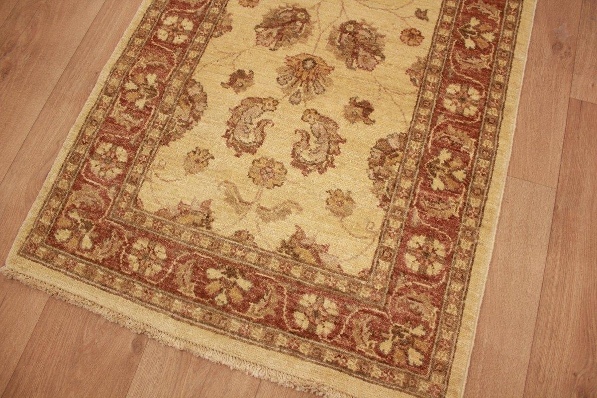ziegler teppich orientteppich beige langer l ufer 546x82 cm. Black Bedroom Furniture Sets. Home Design Ideas