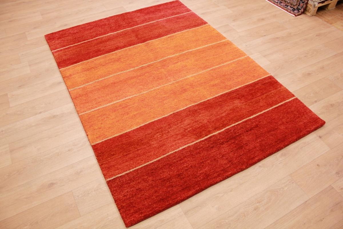 orient teppich gabbeh reine wolle 240x170 cm rot orange. Black Bedroom Furniture Sets. Home Design Ideas