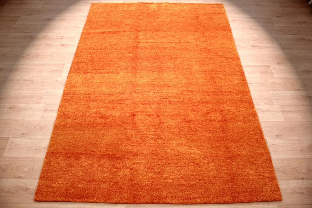 orient teppich gabbeh reine wolle 287x196 cm orange. Black Bedroom Furniture Sets. Home Design Ideas