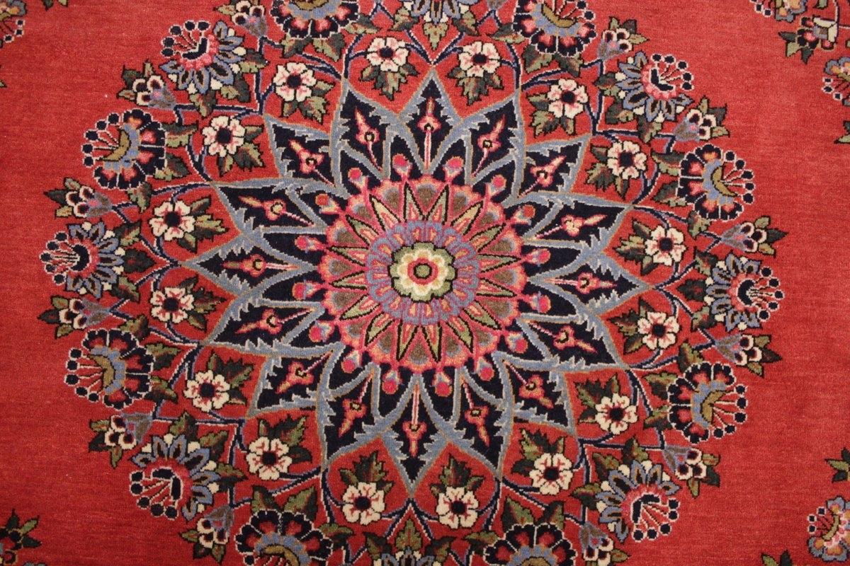 runder perserteppich kaschan 94 cm durchmesser rot. Black Bedroom Furniture Sets. Home Design Ideas