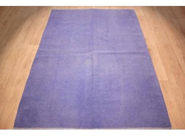 Teppiche Modern Gunstig ~ Teppich modern vintage teppich kelim 158x134 cm blue