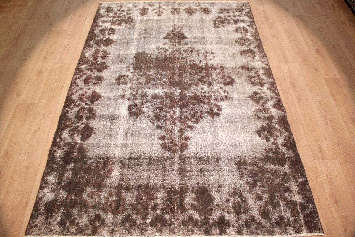 Grauer Vintage Teppich Online Bei Www.teppich.com Kaufen